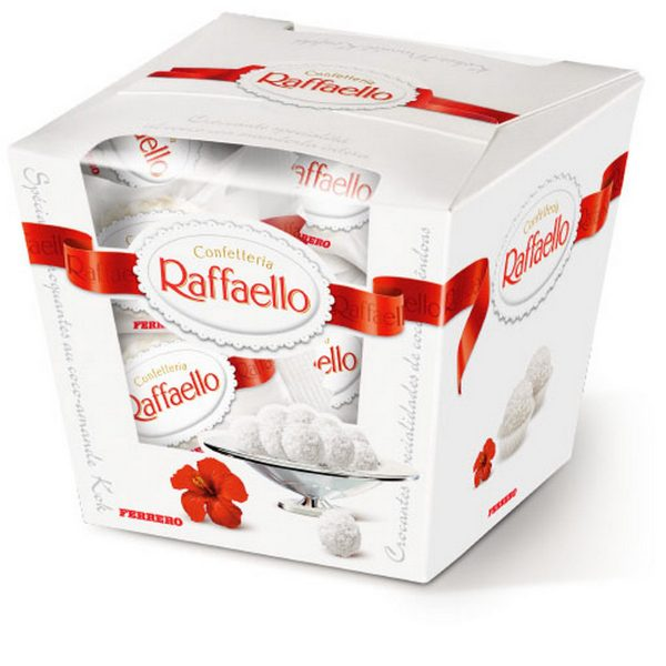 Конфеты в коробке _Raffaello_